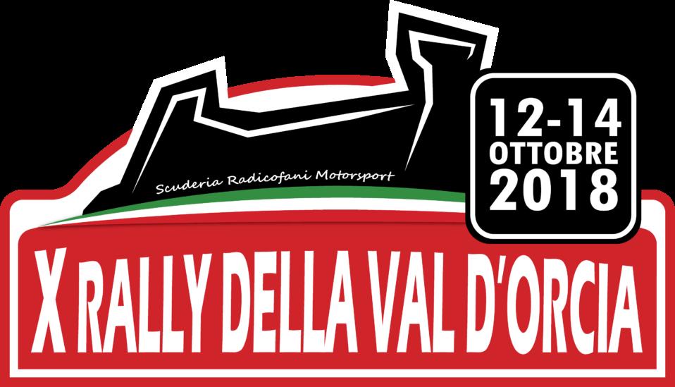 logo rally della val d'orcia 12-14 ottobre 2018