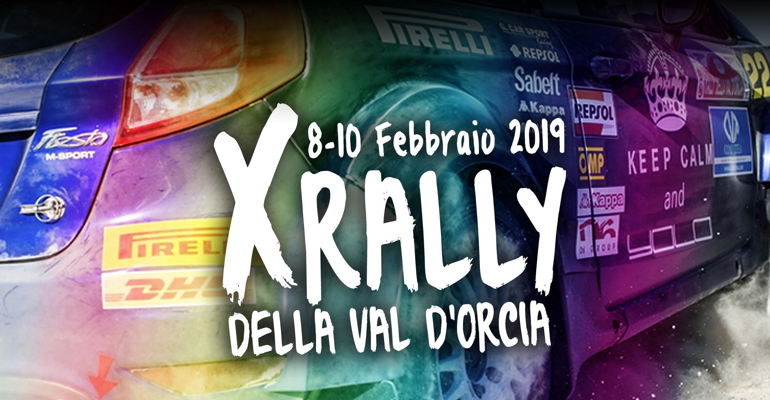 X Rally della Val D'Orcia