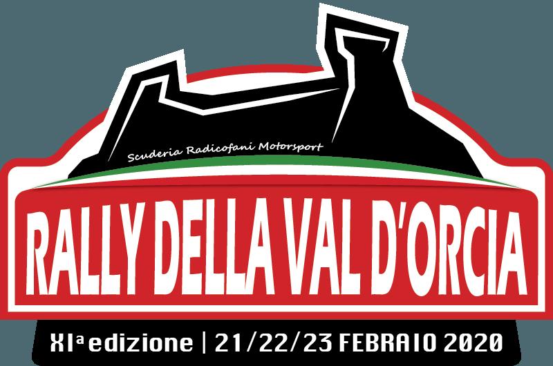 XI RALLY della Val D'Orcia 2020 21/22/23 Febbraio 2020